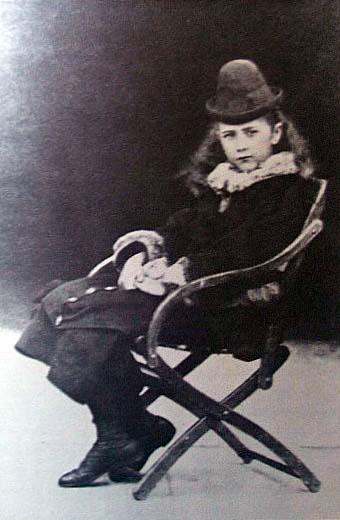 Беатрикс Поттер в детстве