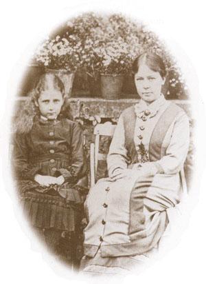 Беатрикс Поттер и ее гувернантка мисс Дэвидсон