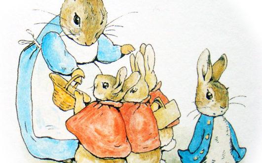 Кролик Питера Беатрикс Поттер