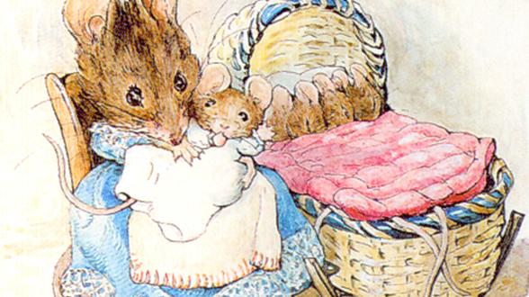 Две вредные мышки Беатрикс Поттер
