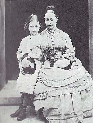 Беатрикс Поттер и ее мать Хелен