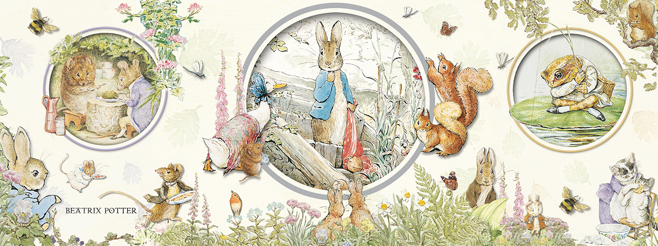 Beatrix potter wall decals hd pictures