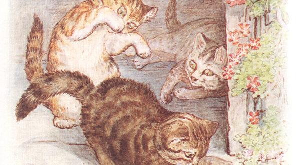 Иллюстрации к сказке о котёнке Томе