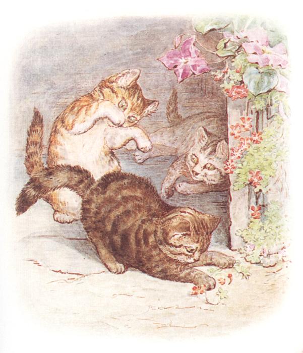 Сказка про котёнка Тома